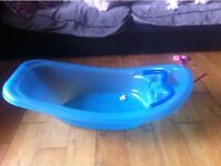 Blue baby bath for sale