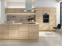 Textured Slab Kitchen Units