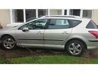 Peugeot 407 BRAND NEW MOT, TYRES AND SERVICE in Porthcawl