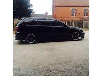 nissan almera black 1.4 with 2.0 sr20de engine turbo not honda audi golf