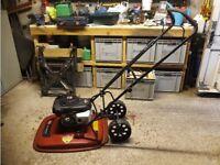 Hovermower, Toro Hoverpro 550 with detachable wheelset.