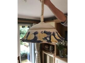 Ceramic Pull Down Lampshade