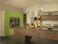 Duleek-Olivewood-Lime-green Kitchen