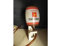 Courage tavern beer pump