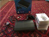 Playstation 3 Super Slim + 12 Games