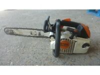 stihl ms200t powerful professional top handle chainsaw £320 on ebay