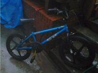Zinc Backbone 20 Inch BMX Bike.Reduced from 40 pound to 20 pound.