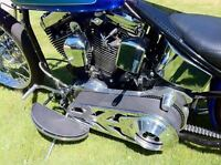 custom rigid harley chopper