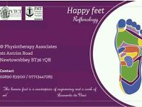 Happy feet reflexology