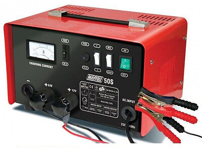 Maypole 30 Amp 12v/24v Battery Charger MP750