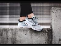 Nike Air Max Thea Ultra Flyknit Glacier Blue - Women Shoes UK 5.5 RRP£110