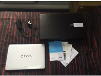 Sony Vaio White - Intel i5 - Touch Screen Laptop with Backlit keyboard