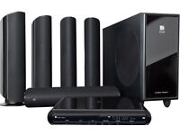 KEF KIT200 Instant Home Theatre DVD Player + Remote Control + Connecting Cables x 2 sets