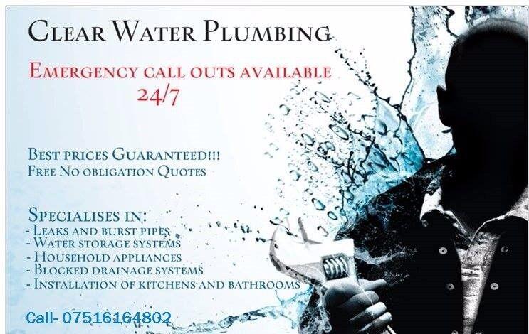 Clear water plumbing ltd