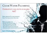 Clear water plumbing ltd