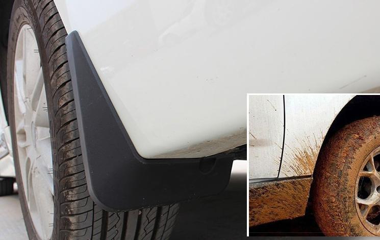 4pcs FIT FOR Hyundai Elantra 2015-2018 Mud Flap Flaps Splash Guards Mudguards
