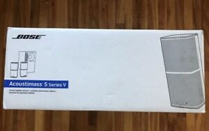 BOSE Acoustimass 5 Series V Stereo Speaker system (New in Box)