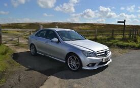 Mercedes C220 Cdi AMG sports pack low mileage