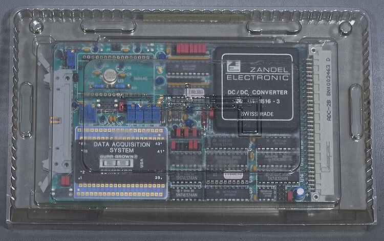 New Gespac Adc-2b/gesadc-2 Analog/digital Convertor Board, Asm Pn: 03-322713a01