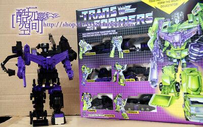 Transformers G1 Devastator  brand new Gift black