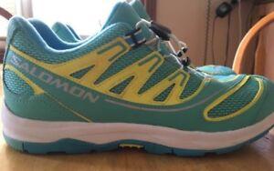 Women's authentic Salomon shoes