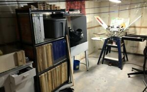 Screen Printing Equipment for hobby/business