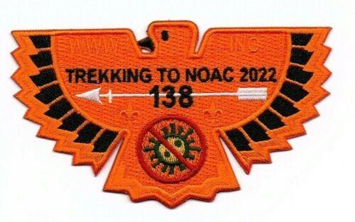 Boy Scout OA 138 Ta Tsu Hwa 2022 NOAC 2020 Fundraiser Pandemic Orange Flap