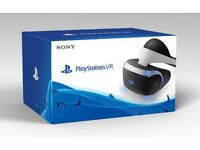 PlayStation VR Headset Brand New In Box!!!!!!