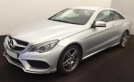 MERCEDES-BENZ E350 IRIDIUM SILVER 3.0 AMG LINE COUPE DIESEL FROM £93 PER WEEK!