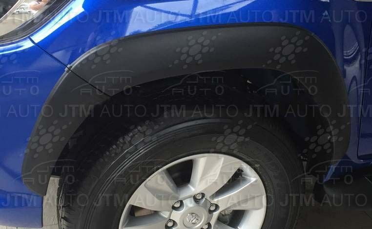 4 Door Fender Flares Wheel Arch Suitable For Toyota Hilux Rugged X 2015-2019
