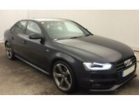 Blue AUDI A4 SALOON 1.8 2.0 TDI Diesel BLACK EDITION FROM £77 PER WEEK!