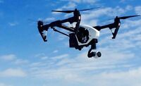 Aerial drone for hire