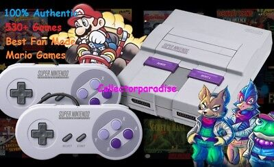 Wonderful Nintendo Classic Edition Console SNES Mini System ADDED 530+ Games! NES