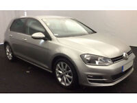 VOLKSWAGEN GOLF 1.4 TSI MATCH SE 1.6 1.9 2.0 TDI SPORT GTD GTI FROM £41 PER WEEK