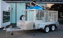 Brickie or Plasterer Box Trailer 8x5 Galvanised Dual Axle Braked Mandurah Mandurah Area Preview