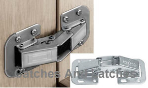 fixing hinges on kitchen cabinets easy mount fix concealed cabinet door hinge sprung ebay 15465