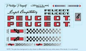 Peugeot-PX10-PY10-Bicycle-Decals-Transfers-Stickers-Red-7