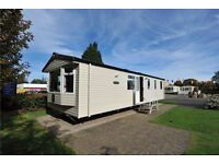 ** Perfect ** 3 Bedroom Double glazed central heated caravan for sale, Haggerston Castle