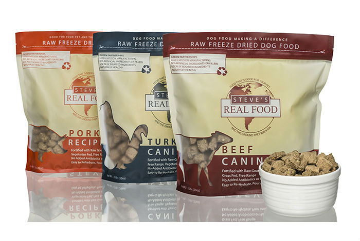 Steve's Real Food Freeze Dried Nuggets for dogs and cats