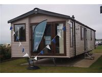 Swift Moselle 2014 HAVEN Caravan 2 bedrooms 38x12 2017 Site Fees Included Filey Scarborough