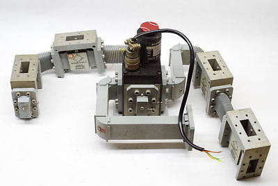 Logus Wr112 Waveguide Switch With Farinon Waveguides