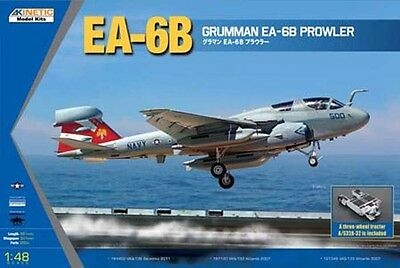 Used, KINETIC 1/48 Grumman EA-6B Prowler (New Wings) Airplane K48044 for sale  Shipping to United States