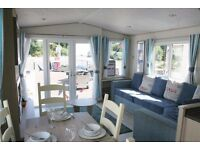 Double glazed, central heated caravan for sale, Haggerston Castle holiday park, Berwick upon tweed