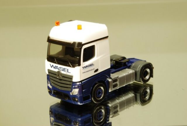 """Herpa 303439 MB Actros Bigspace solo Zugmaschine 2a """"Wasel Krane"""""""