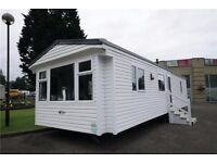 Pre-owned Double Glazed central heated static caravan for sale, Haggerston Castle Holiday Park