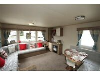 Haggerston Castle Holiday Hire Deluxe Caravan