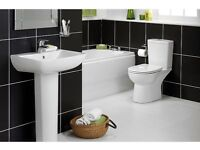Bathroom suite with a FREE Basin, FREE Mixer Tap, FREE Bath Mixer TAP and FREE Panel. FREE DELIVERY