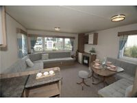 Deluxe 8 berth Caravan to rent at Seton Sands holiday park. Pets welcome.