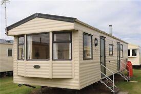Static caravan for sale on a haven park