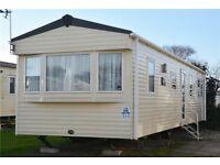 Cheap 8 berth caravan for sale Blackpool double glazed & central heated